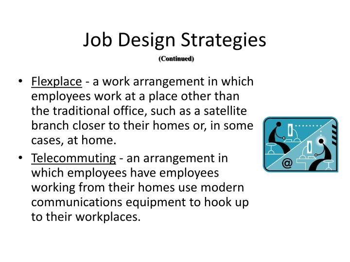 Job Design Strategies