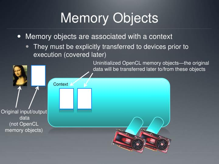 Memory Objects