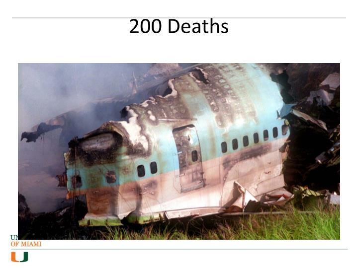 200 Deaths
