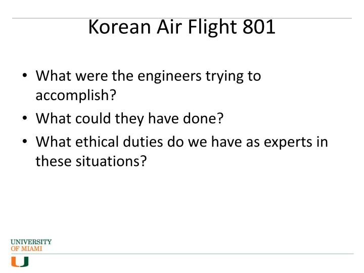 Korean Air Flight 801