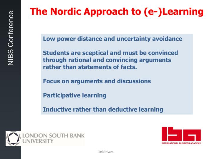 The Nordic Approach to (e-)