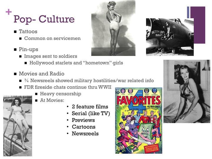 Pop- Culture
