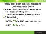why do soft skills matter job outlook 2010