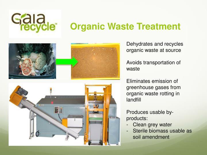 Organic Waste Treatment