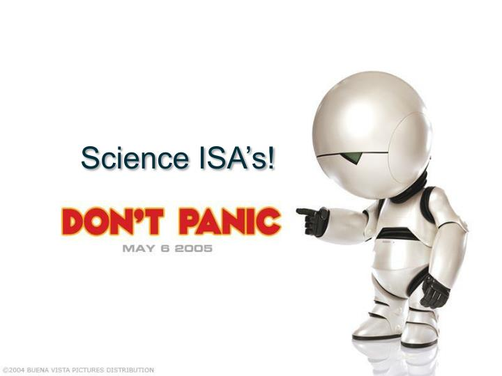 Science isa s