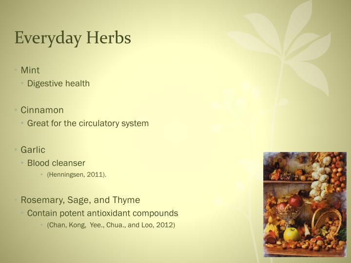 Everyday Herbs