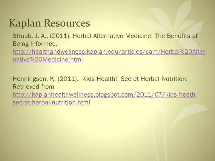 Kaplan Resources
