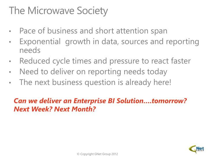 The Microwave Society