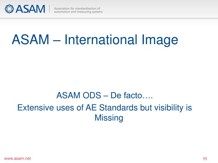 ASAM – International Image