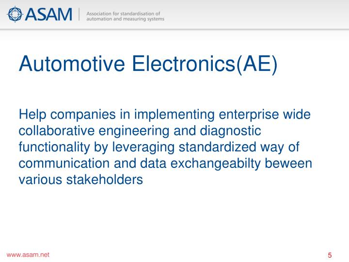 Automotive Electronics(AE)