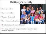 brittney s family