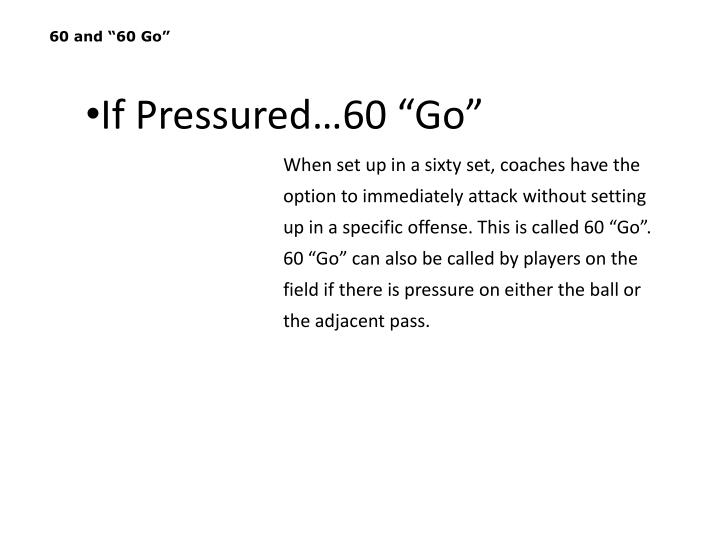 """60 and """"60 Go"""""""