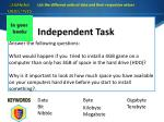 independent task1