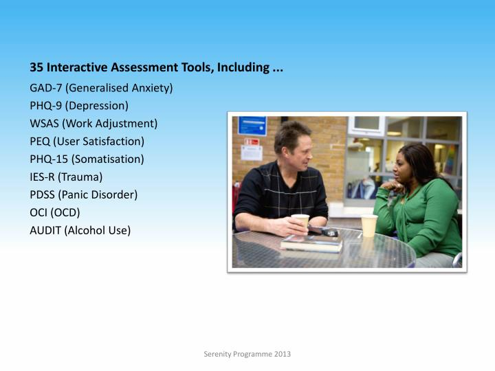 35 Interactive Assessment Tools, Including ...