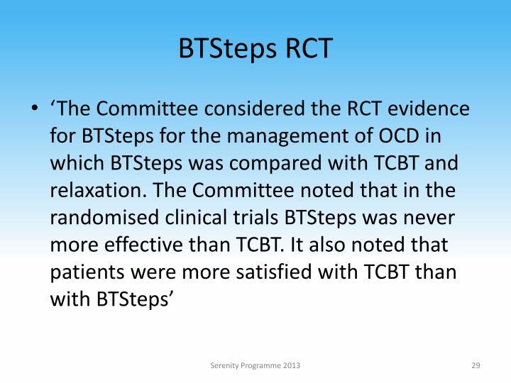 BTSteps RCT