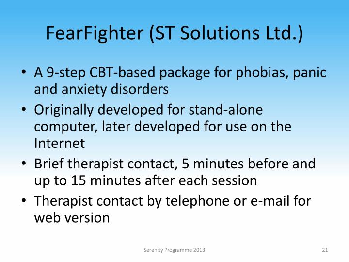 FearFighter (ST Solutions