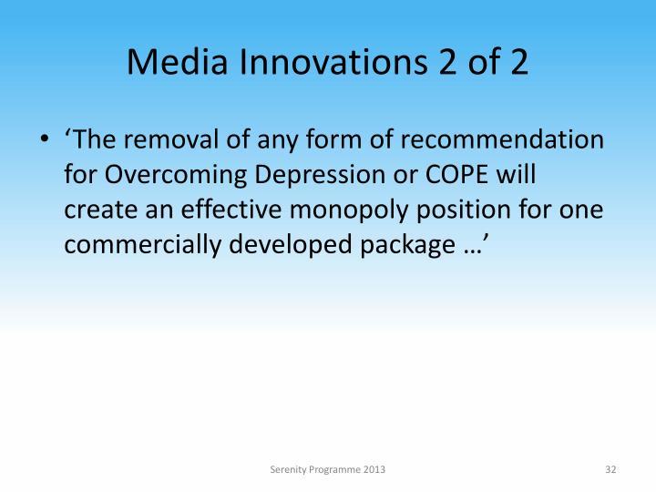 Media Innovations 2