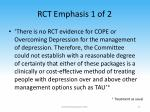 rct emphasis 1 of 2