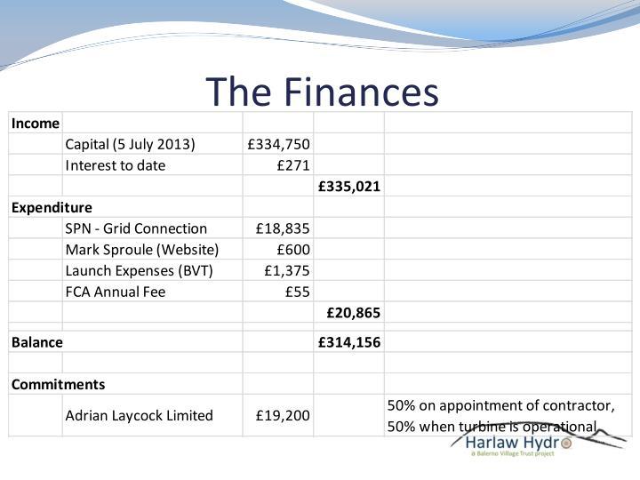 The Finances