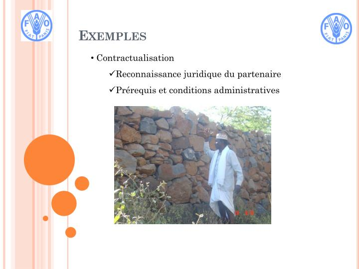 Contractualisation