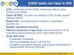 egee tasks not clear in egi