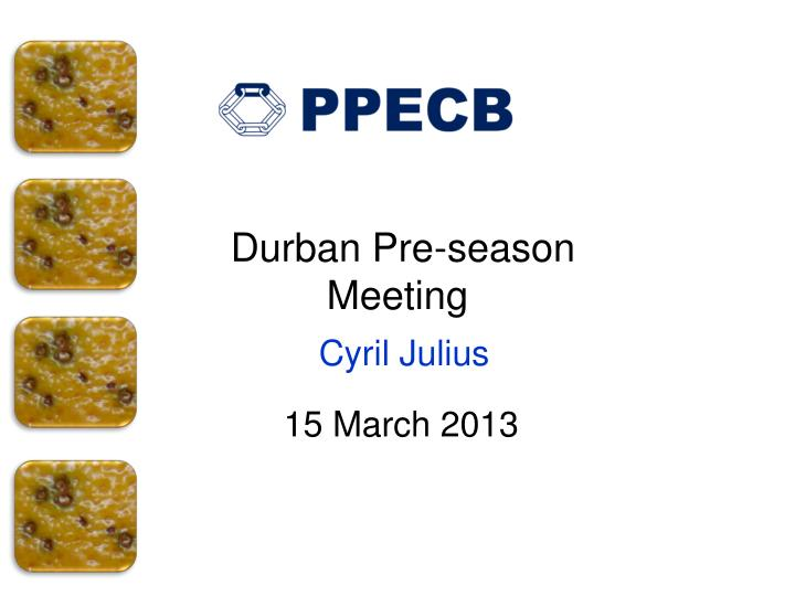 durban pre season meeting cyril julius