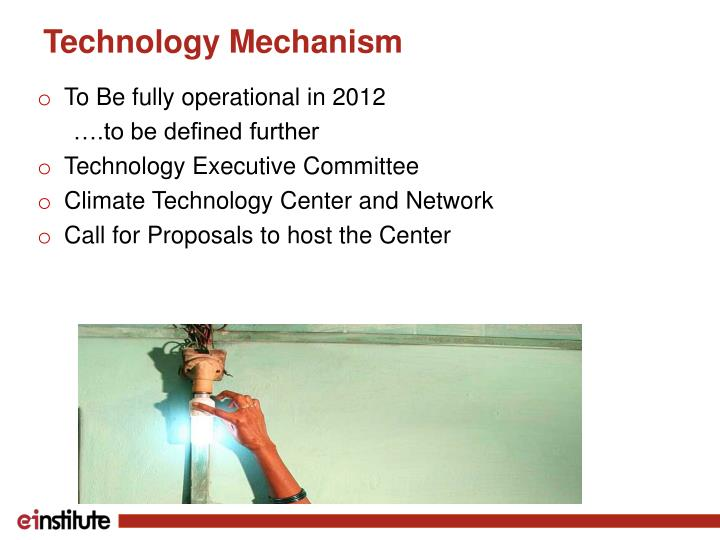 Technology Mechanism