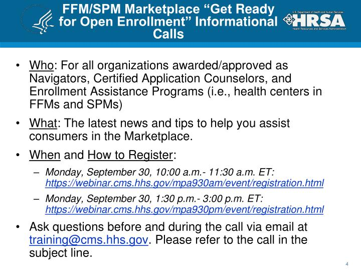"FFM/SPM Marketplace ""Get"