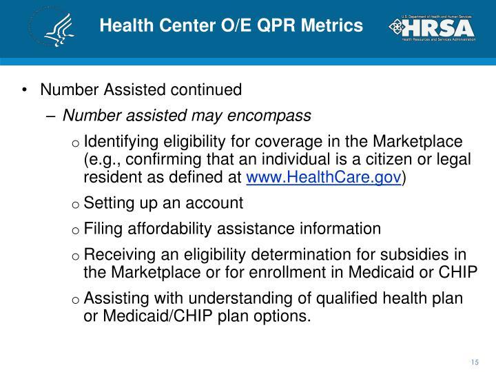 Health Center O/E