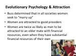 evolutionary psychology attraction4