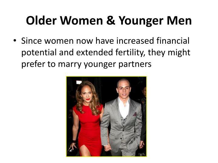 Older Women & Younger Men