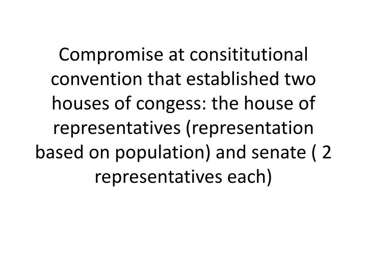 Compromise at