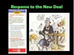 response to the new deal5