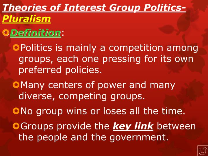 Theories of Interest Group Politics-