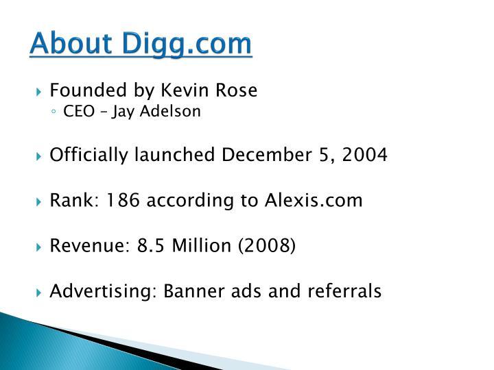 About Digg.com