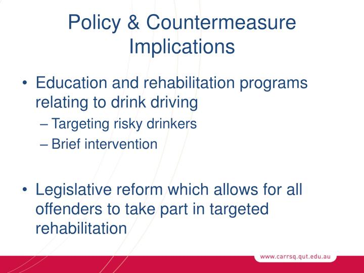 Policy & Countermeasure Implications