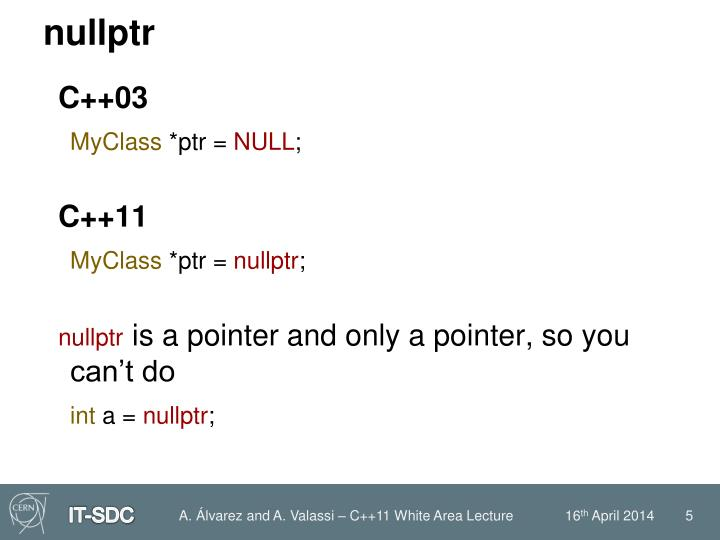 nullptr