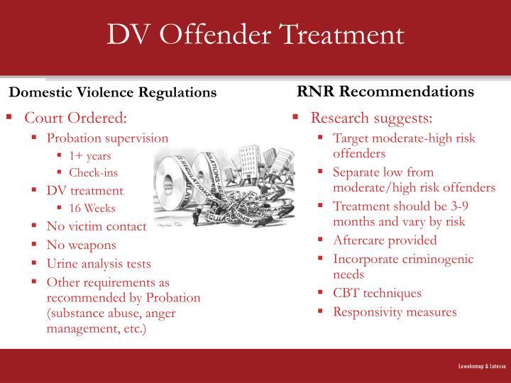 DV Offender Treatment