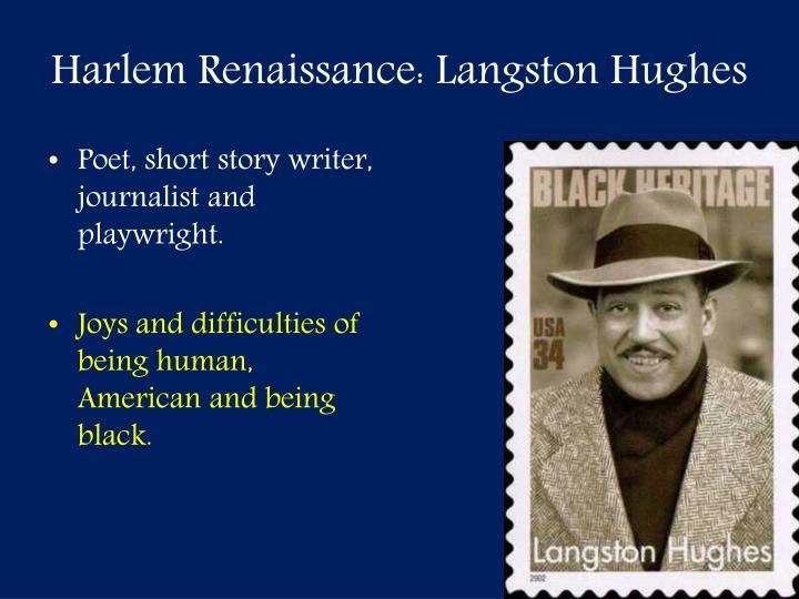Harlem Renaissance: Langston Hughes