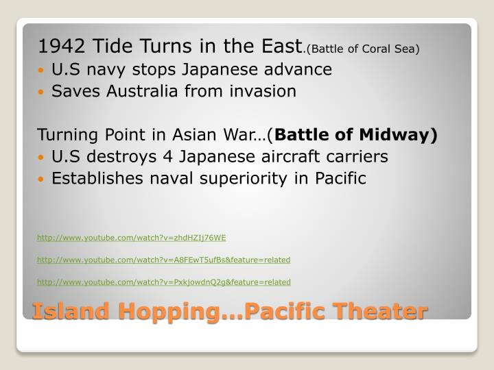 1942 Tide Turns in the East