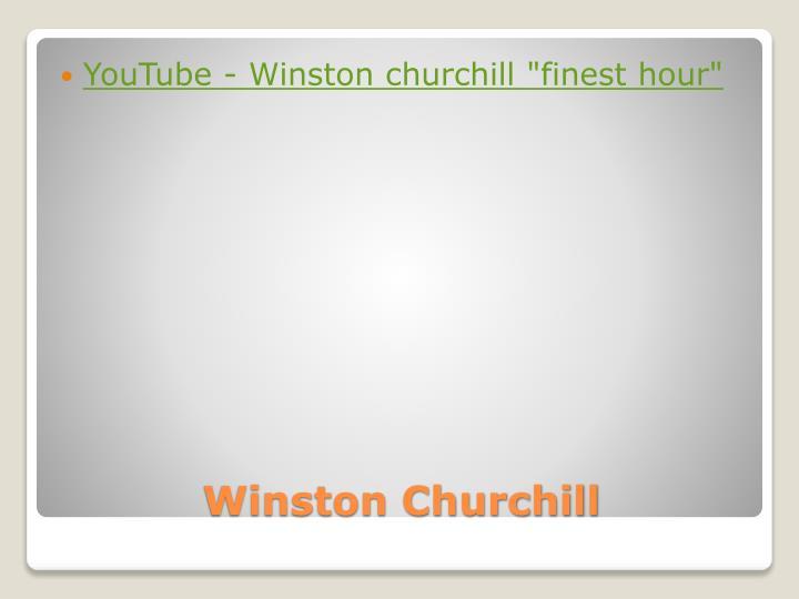 YouTube - Winston
