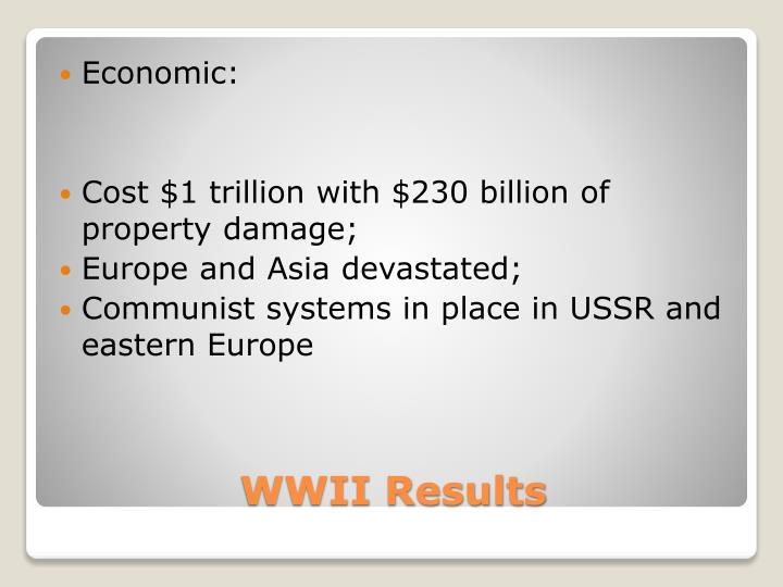 Economic: