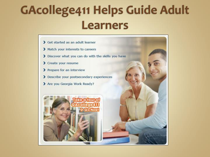 GAcollege411 Helps