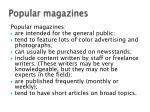 popular magazines1
