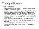 trade publications1