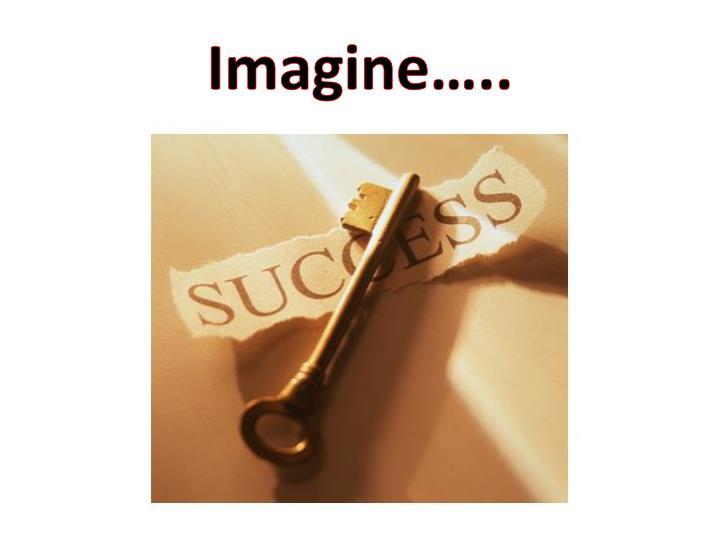 Imagine…..