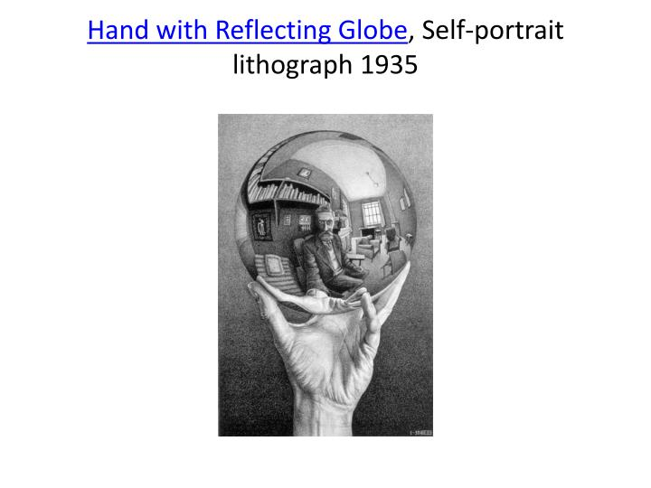 Hand with Reflecting Globe