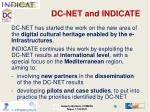 dc net and indicate1