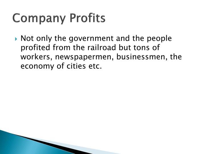 Company Profits