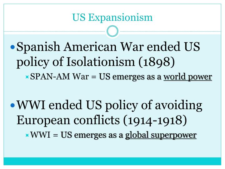 US Expansionism